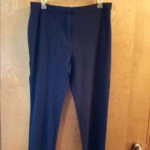 Susan Graver navy pants.